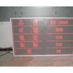 LED标准点阵看板