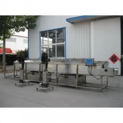 即食苞米清洗漂燙包裝流水線生產廠家@放心機械