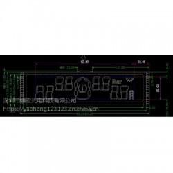 胎壓監測顯示屏 胎壓監測液晶屏 斷碼液晶屏 背光源
