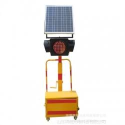 移動式led太陽能交通信號燈 十字路口信號燈 可調節高度