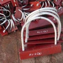 滄州匯鵬 A1U型螺栓A2帶角鋼U型螺栓 廠家直銷