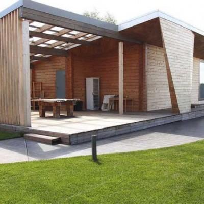 轻钢别墅,也称为轻钢结构房屋