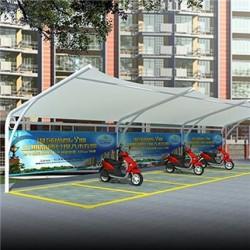 膜结构电动车棚_恒天_电动自行车车棚_经销商供应商